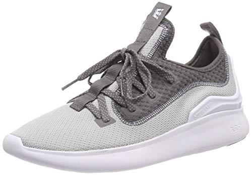 Grey Sneakers Lt Grey Supra Homme white Factor 076 Basses Gris 4f7gUq6