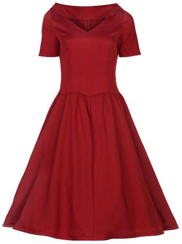Lindy-Bop-Betsy-Vintage-1950s-Rockabilly-Pinup-Style-Swing-Dress