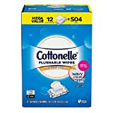 Cottonelle Clean Care Wet wipes, 9 packs of 56 Wipes per pack