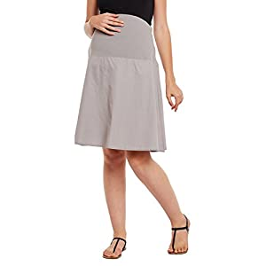 Oxolloxo Women's Cotton Maternity Skirts Online India