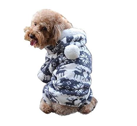 INTERNET Ropa para Perros, Ropa De Abrigo para Mascotas Capa del Suéter del Perrito (