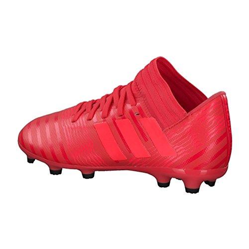 adidas Nemeziz 17.3 AG J, Botas de Fútbol Unisex Adulto Naranja (Correa / Rojent / Negbas 000)