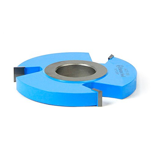 3 Wing Carbide Shaper Cutter - Amana Tool A-27-104 Carbide Tipped 3-Wing Heavy-Duty Rabbeting 4 D x 1/2 CH x 1-1/4 Bore Shaper Cutter