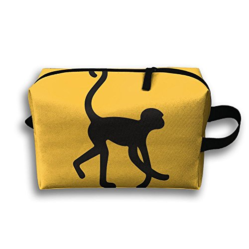 Unisex Monkey Marmosets Silhouette Portable Buggy Bag, used for sale  Delivered anywhere in USA