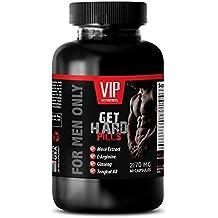male enhancing pills erection best seller - GET HARD PILLS 2170Mg - FOR MEN ONLY - maca and tribulus - 1 Bottle (60 Capsules)