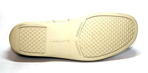 Ganter, Scarpe stringate donna Bianco Leinen 36.5