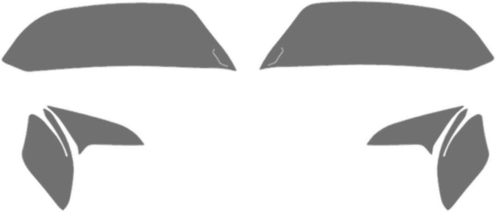 Application Kit Rvinyl Rtint Headlight Tint Covers for Ford Explorer 2020-2020