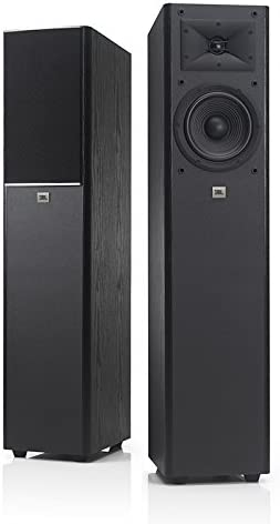 JBL Arena 170 Black 2-Way 7-Inch Floorstanding Loudspeaker Black – Single Each