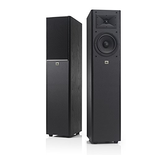 JBL Arena 170 Black 2-Way 7-Inch Floorstanding Loudspeaker (Black) - Single/Each by JBL