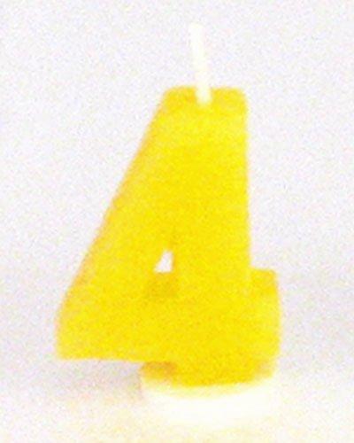 Amazon.com: Digit – Vela de cumpleaños cuatro – 4: Home ...