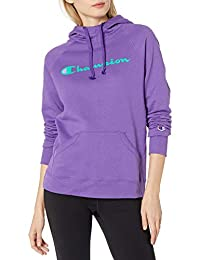 Champion Womens Powerblend Graphic Hoodie Hooded Sweatshirt