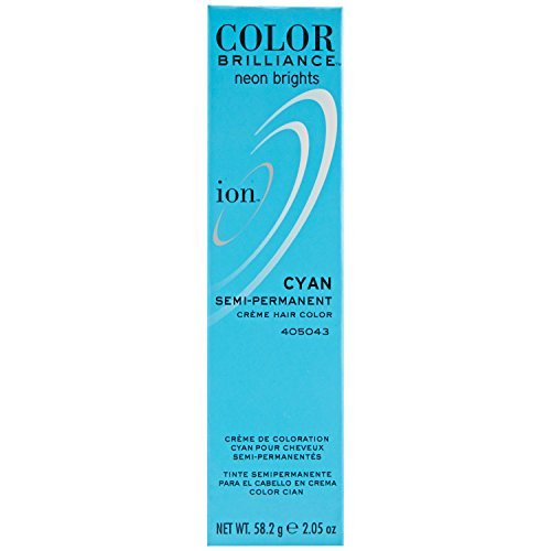 Cyan Semi Permanent Hair Color by - Cyan Ion