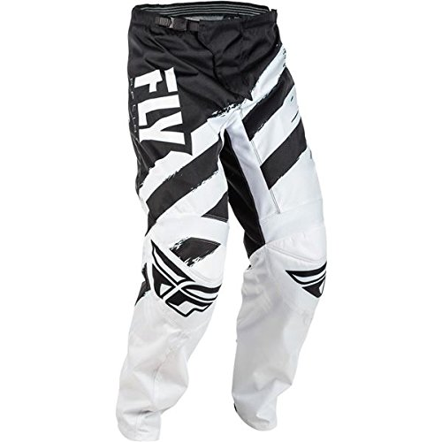 Fly Racing Grey-Black 2018 F-16 Mx Pant (28'' Waist , Black)