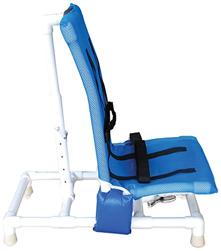 MJM 191-S-A Articulating Bath Chair Small, Royal Blue/For...
