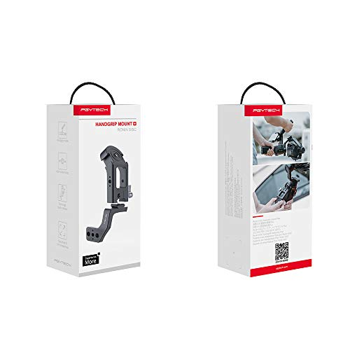 PGYTECH Yueli Ronin S/SC Hand Grip Mount Plus with Cold Shoe Interface Small Storage Volume Easy to Disassemble