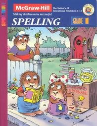Spectrum Spelling, Grade 1 (McGraw-Hill Spectrum Workbooks: Mercer Mayer) Mercer Mayer