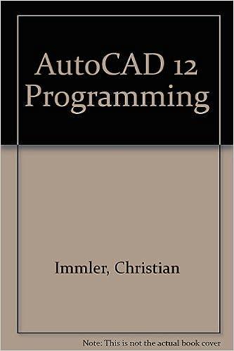 Amazon com: Autocad 12 Programming (9781557551733