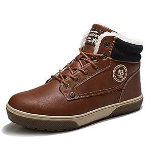 ARRIGO BELLO Homme Bottines Chaussure Hiver Bottes Chaud Antidérapant Ville Décontractées Basket Marche Randonnée…