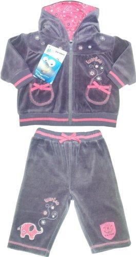 Brecrest Babywear Everton Football Club Baby Girl de terciopelo ...