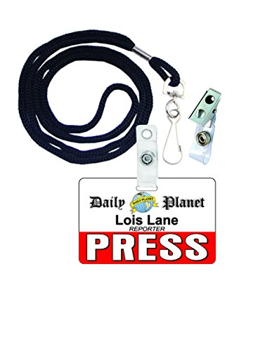 Lois Lane Superman Novelty ID Badge Film Prop for Costume and Cosplay • Halloween and Party (Clark And Lois Costumes)