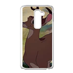 Bambi Character Bambi's Mother LG G2 Cell Phone Case White Ybfaq
