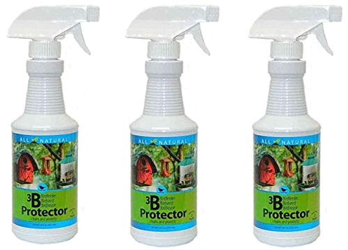 Care Free Enzymes 3-Pack 3B Protector Spray Bottle 94721D 16 oz. by Care Free Enzymes