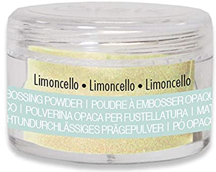 Sizzix 663736 Making Essential Opaque 12g Embossing Powder Limoncello
