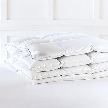 Alexander Comforts Surrey Medium Weight Hungarian White Goose Down Comforter Twin
