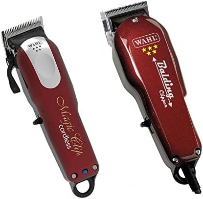 Wahl inalámbrico Magic Clipper y Balding Clipper: Amazon.es: Salud y cuidado personal