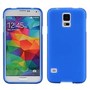 GJY Smooth Sold Color Soft TPU Case for Samsung Galaxy S5 I9600 , Light Blue