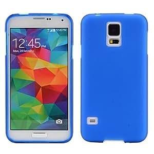 Smooth Vendido sentencia de TPU suave de colores para Samsung Galaxy i9600 S5 , Azul claro