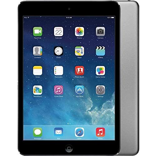 Apple iPad Air 9.7in WiFi 16GB Tablet - Space Gray - MD785LL/A (Renewed) (Air Apple A7 Ipad 64gb)