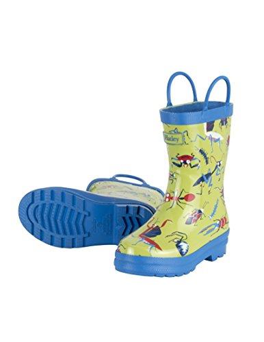 Hatley Little Boys' Printed Rain Boot, Killer Bugs, 12