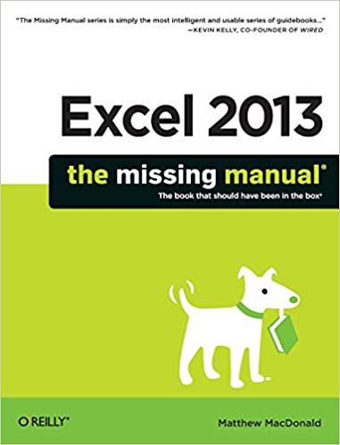 Amazon.com: Excel 2013: The Missing Manual (9781449357276 ...
