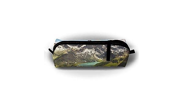 Alpine - Estuche para lápices de estudiantes, con cremallera, bolsa pequeña para cosméticos, maquillaje, monedas, monedero, para niños, adolescentes y otros suministros escolares: Amazon.es: Oficina y papelería
