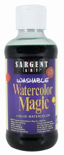 Sargent Art 22-6066 8-Ounce Watercolor Magic, Green ()