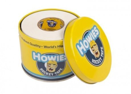 3x Howies Hockey Tape weiß mit schicker Dose, Eishockey