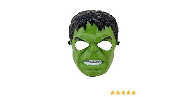 Disfrazjaiak Mascara Monstruo verde - Mascaras, Antifaces y Caretas: Amazon.es: Ropa y accesorios