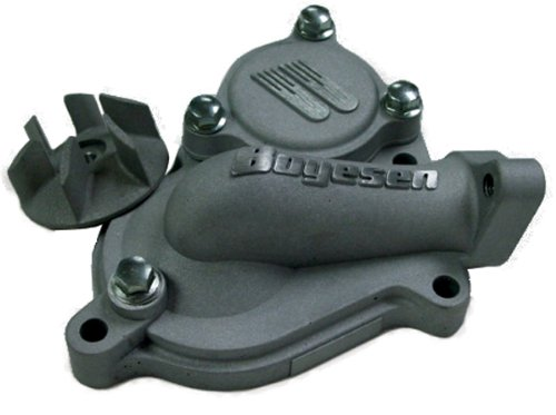 Boyesen Hy-Flow Water Pump Cover & Impeller Black Kit for 2010-2013 Honda CRF25 - One Size (Cover Flow Water Pump Hy)