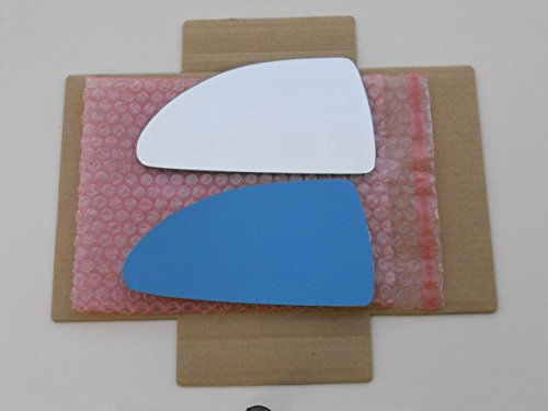 New Replacement Mirror Glass with FULL SIZE ADHESIVE for 06-12 CHEVROLET IMPALA Driver Side View Left LH