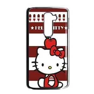 Hello Kitty ROCK0010535 Phone Back Case Customized Art Print Design Hard Shell Protection LG G2