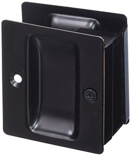 Weslock Weslock 00527X1X1 Pocket Door, Oil-Rubbed Bronze (Oil Bronze Rubbed Weslock)