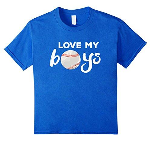 Love My Boys Baseball Mom & Dad T-Shirt
