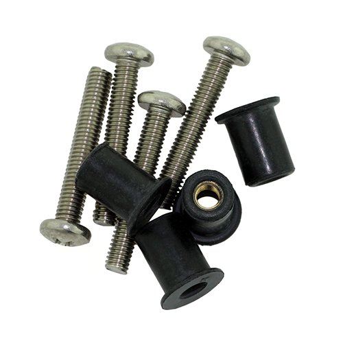 - Scotty 0133-4 Well Nut Kit, 4 Pack