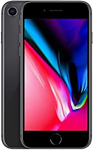 Apple iPhone 8 [256GB, Space Gray] + Carrier Subscription [Cricket Wireless]