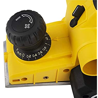 STANLEY STPP7502 750W 2mm Planer (Yellow and Black) with 2 TCT blades 14