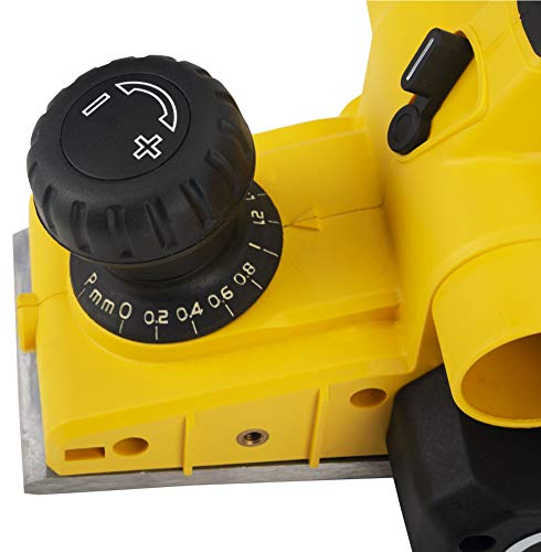 STANLEY STPP7502 750W 2mm Planer (Yellow and Black) with 2 TCT blades 7