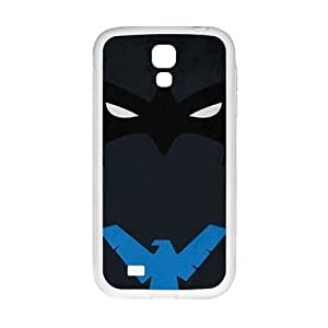 Blue eagle and black bat Cell Phone Case for Samsung Galaxy S4