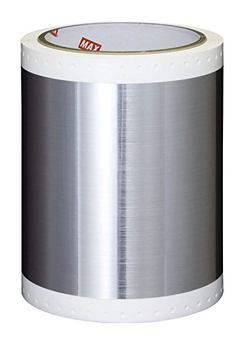 Max USA SL-S152N Pet Hair-Lined Silver Tape Roll For CPM-100G3U, Sold 2 per Zack Pack. by Max