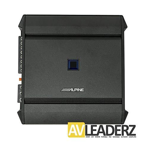 Alpine S-A32F S-Series 4-Channel Digital Amplifier - 80 Watts RMS x 4 @ 2-Ohms